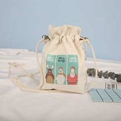 Ms Bean - Print Drawstring Bag