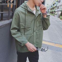 Jacka - Hooded Zip Jacket