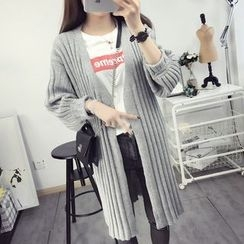 Dream Girl - Striped Long Cardigan