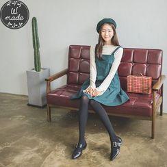 WITH IPUN - Tie-Strap Zip-Back Dress