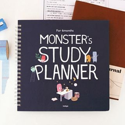 Full House - Monster Print Study Planner (Medium)