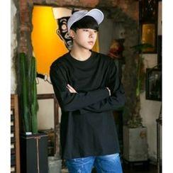 ABOKI - Cotton Plain T-Shirt
