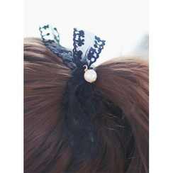 kitsch island - Lace Bow Hair Tie