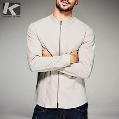 Quincy King - Plain Zip Shirt