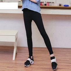 Jenny's Couture - 純色窄身長褲