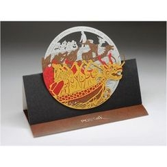POSTalk - Large Pop-Up Greeting Card - Dragon Boat Racing