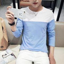 JVI - Color Panel Long Sleeve T-Shirt