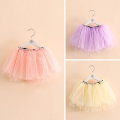 Seashells Kids - Kids Tulle Skirt