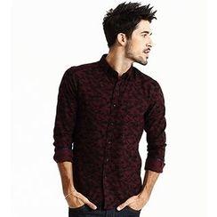 Simwood - 迷彩长袖衬衫