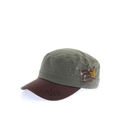 Ohkkage - Color-Block Military cap