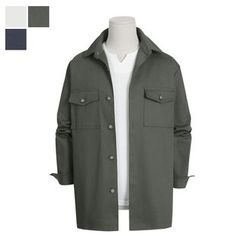 DANGOON - Flap-Pocket Button-Down Jacket