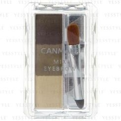 Canmake - Mix Eyebrow (#04 Grayish Brown)