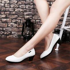 Hannah - 仿皮高跟鞋