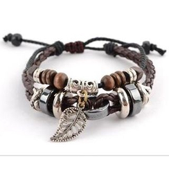 Trend Cool - Genuine Leather Charm Bracelet