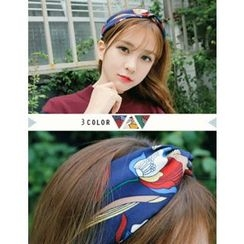 soo n soo - Knotted Pattern Hair Band