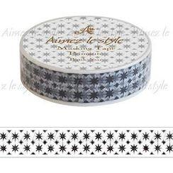 Aimez le style - Aimez le style Masking Tape Primaute Regular Batik Star