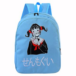 Youme - Girl Print Nylon Backpack