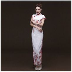 Posh Bride - Lace Cheongsam