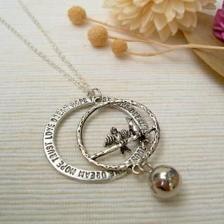 MyLittleThing - Couple Birds Peace Necklace