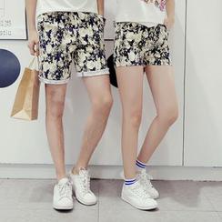 Proemio - Printed Shorts