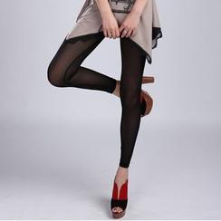 Raisin - Sheer Leggings