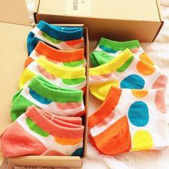 Cutesy Dream - Set of 5: Dotted Socks