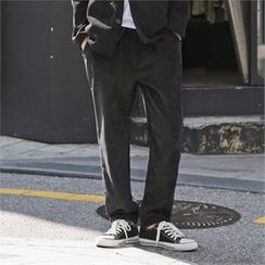 Superstar.i - Drawstring-Waist Corduroy Pants