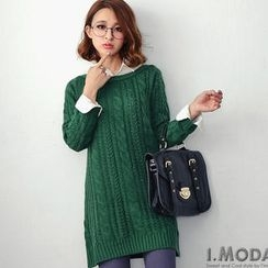 OrangeBear - Cable-Knit Tunic