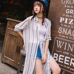 Wimi girls - Stripe Long Shirt