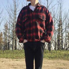 子俊 - 格子长袖衬衫