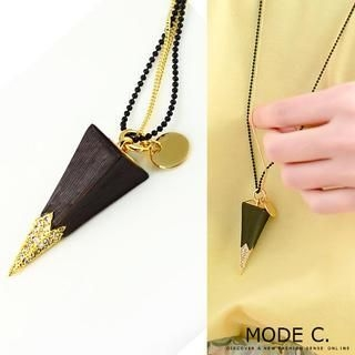 MODE C. - Quartet-Cone Necklace