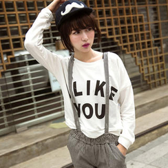 Tokyo Fashion - Long-Sleeve Printed Pullover
