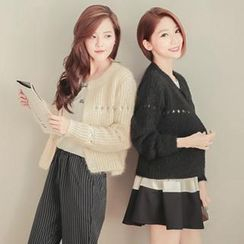 Tokyo Fashion - Open-Knit Cardigan