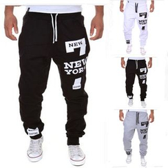 Fireon - Letter Sweatpants