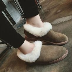 Chryse - Fleece-lined Flats