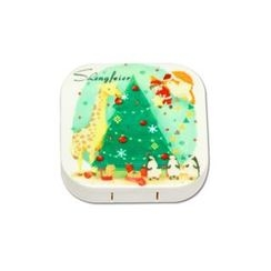 Lens Kingdom - X'mas Tree Contact Lens Case