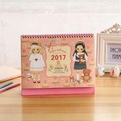OH.LEELY - Print 2017 Desktop Calendar