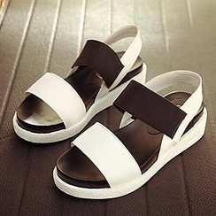 SouthBay Shoes - Color-Block Sandals