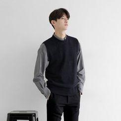 Seoul Homme - Wool-Blend Knit Vest