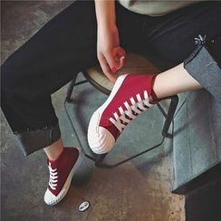Hipsole - High-Top Lace-Up Sneakers