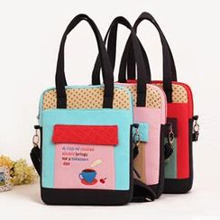 Ladybug - Kids Pattern Lettering Cross Bag