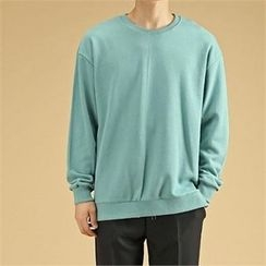 THE COVER - Slit-Hem Colored Pullover