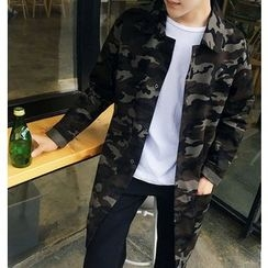 Zeesebon - Camouflage Long Jacket