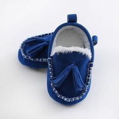 JIMIJIMI - 嬰兒吊蘇樂福鞋