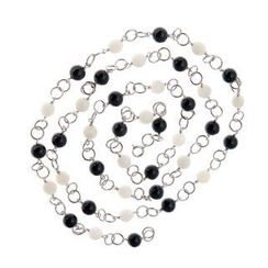 Bellini - Salt and Pepper Necklace