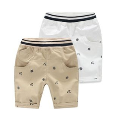 WellKids - Kids Embroidered Shorts