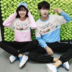 Lovebirds - Set: Couple Pullover + Sweatpants