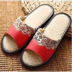 Rivari - Patterned Slippers