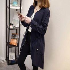 Fashion Street - Plain Zip Jacket