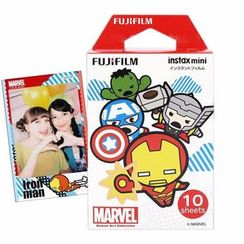 Fujifilm - Fujifilm Instax Mini Film (Marvel Kawaii) (10 Sheets per Pack)
